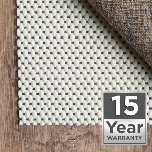 rug pad 15 year warranty