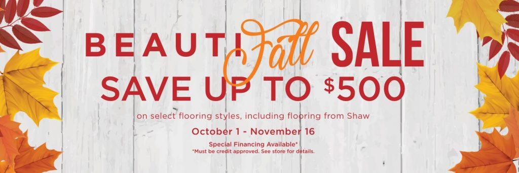 BeautiFALL Sale | Metro Flooring & Design