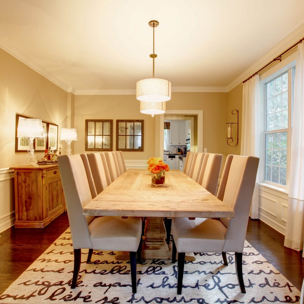 Choosing the Best Rug for Your Dining Room | Metro Flooring & Design