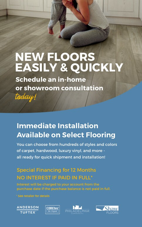 New floors easily and quickly | Metro Flooring & Design
