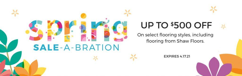 Spring Sale-A-Bration | Metro Flooring & Design